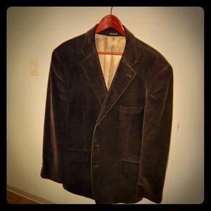 Alfani mens' brown corduroy sport coat, 46R
